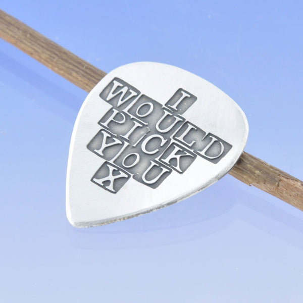 Guitar Plectrum - Personalised Inscription