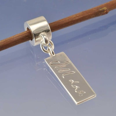 Hand Writing Charm - Signature