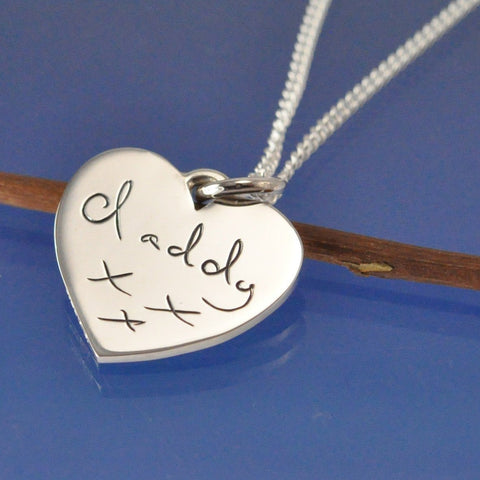 Hand Writing Pendant