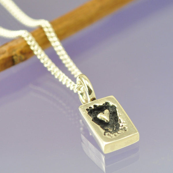 Heart Within Small Pendant