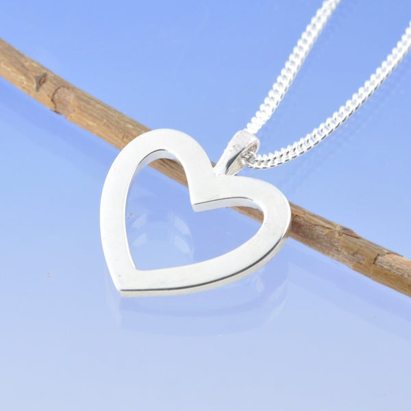 Halo Heart Cremation Ash Pendant