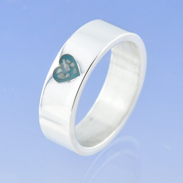 Heart Cremation Ash Ring. Pay What You Can