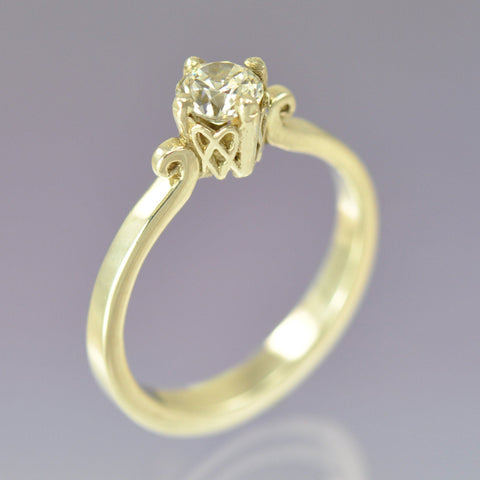 Celtic Heart Diamond Ring Ring Chris-Parry-Handmade