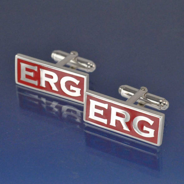 Three Initial Contemporary Cufflinks
