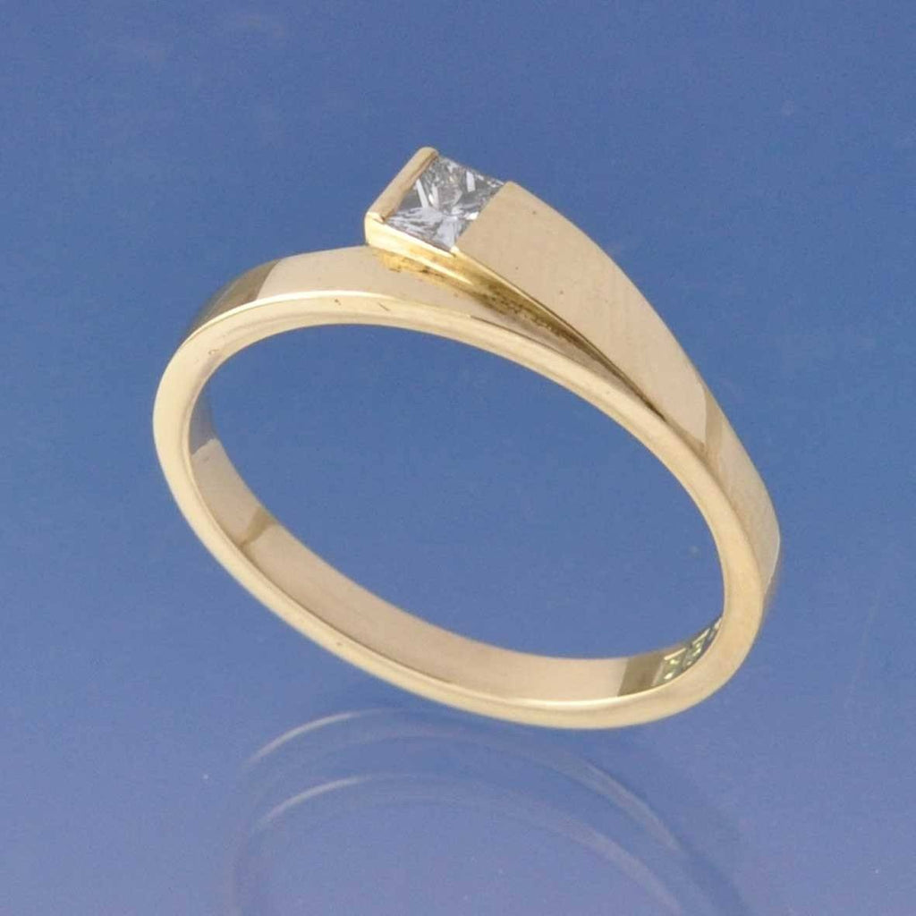 Lapover Diamond Ring