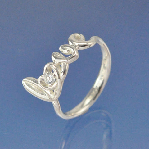 Diamond Love Ring