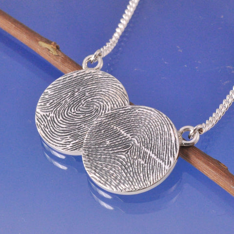 Fingerprint Necklace - Coin