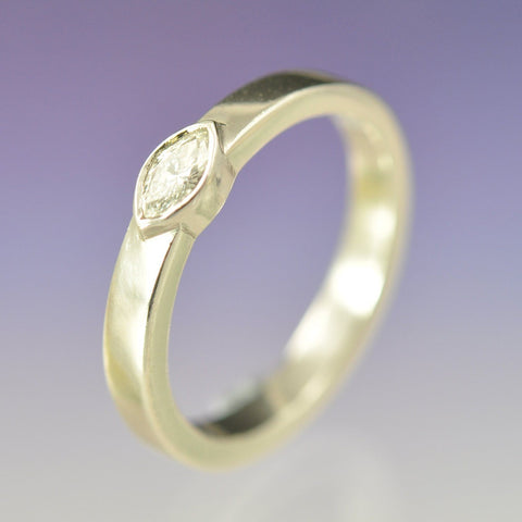Marquise Diamond Ring Ring Chris-Parry-Handmade