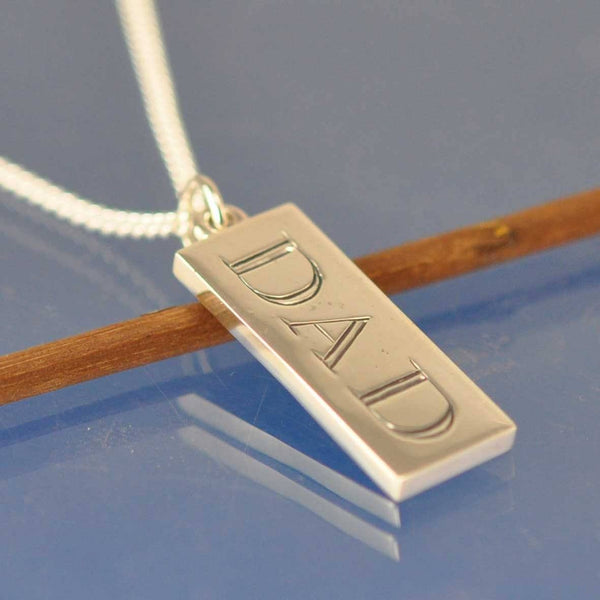 Cremated Ash Rectangular Pendant