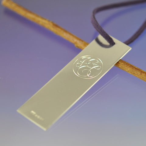 Monogram Book Mark