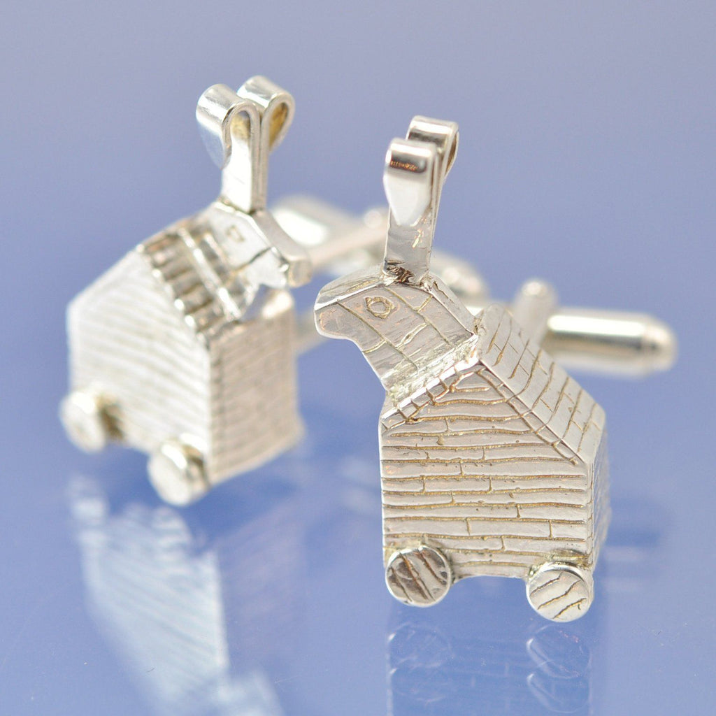 Monty Python - Trojan Rabbit Cufflinks Chris-Parry-Handmade