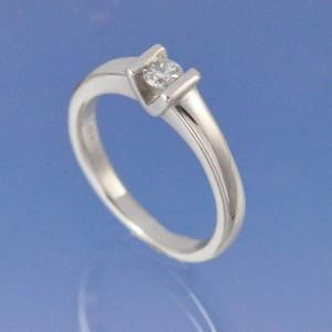 Tension Set Diamond Ring Ring Chris-Parry-Handmade