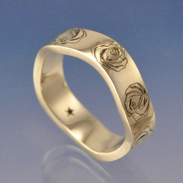 Rose Meandering Ring 5mm