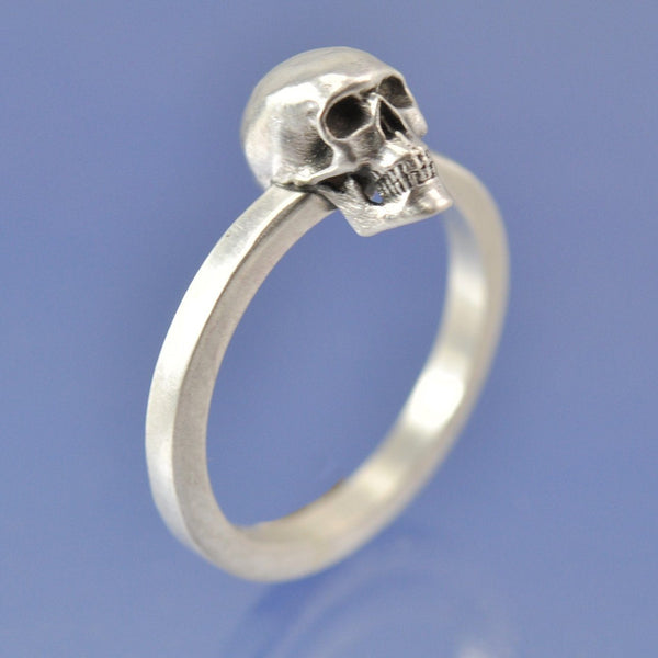 Love You To Death Skull Ring