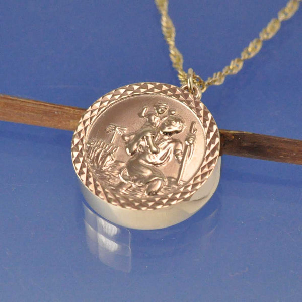 Convert Your St Christopher - Cremation Ash Pendant