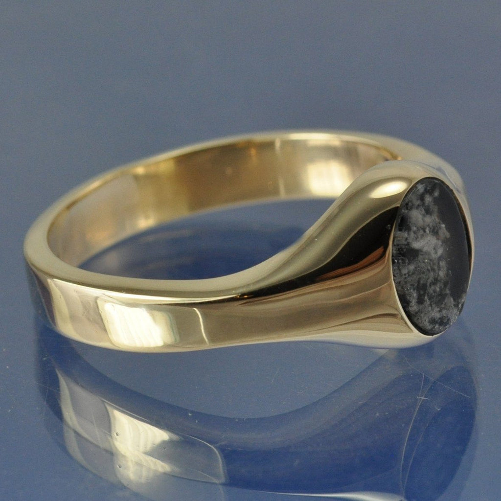 chris rings products ring parry traditional ash handmade signet cremation glass