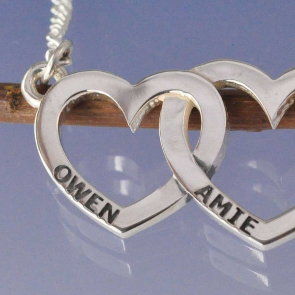 Entwined Personalised Heart