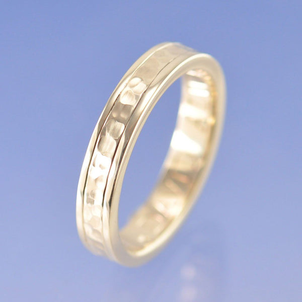 . Two Tone Band with Cremation Ashes