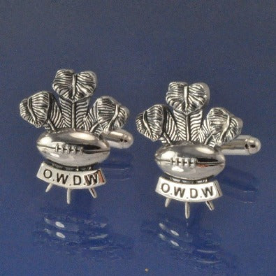 Welsh Rugby Cufflinks