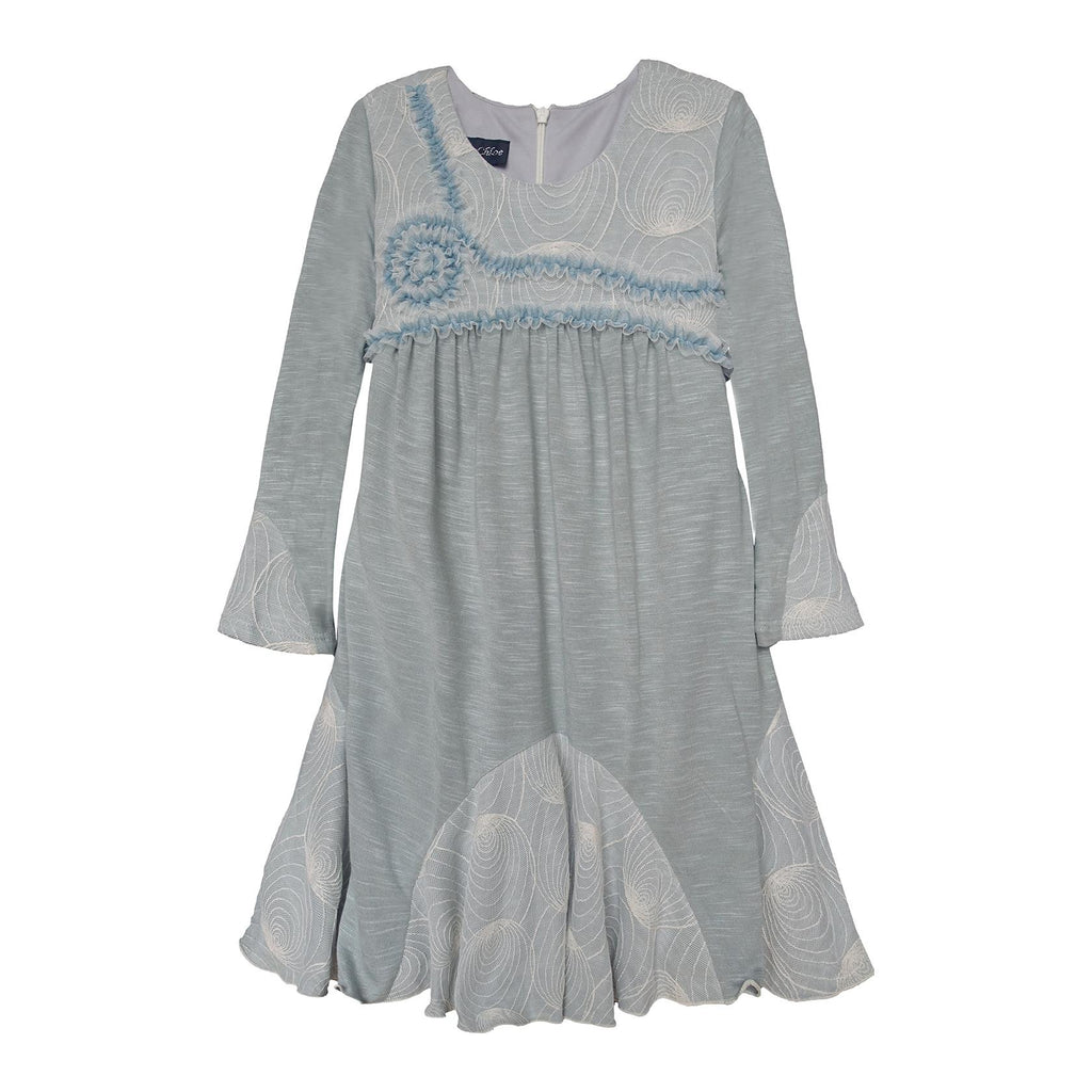 Isobella and Chloe Lemon Mint Girls Dress - Frolicstyle