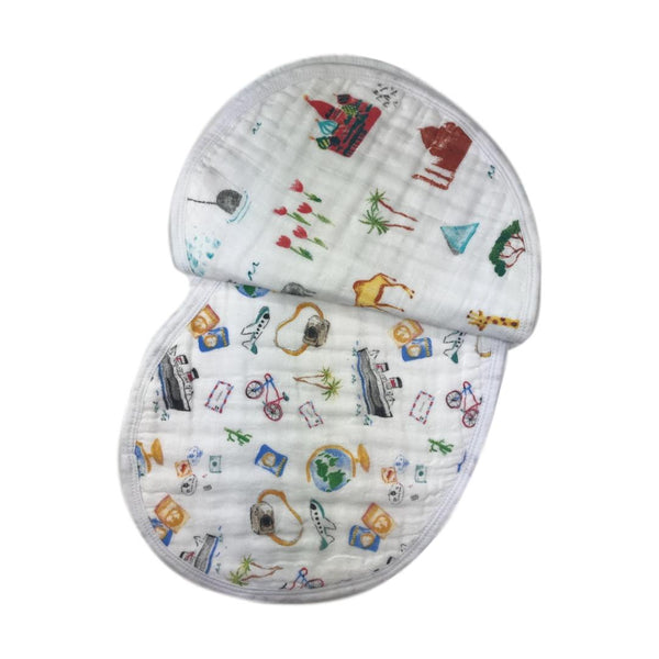Aden + Anais 2-Pack Burpy Bib - Around The World - Frolicstyle