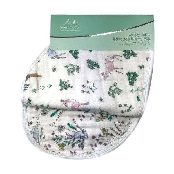 Aden + Anais 2-Pack Burpy Bib - Forest Fantasy - Frolicstyle