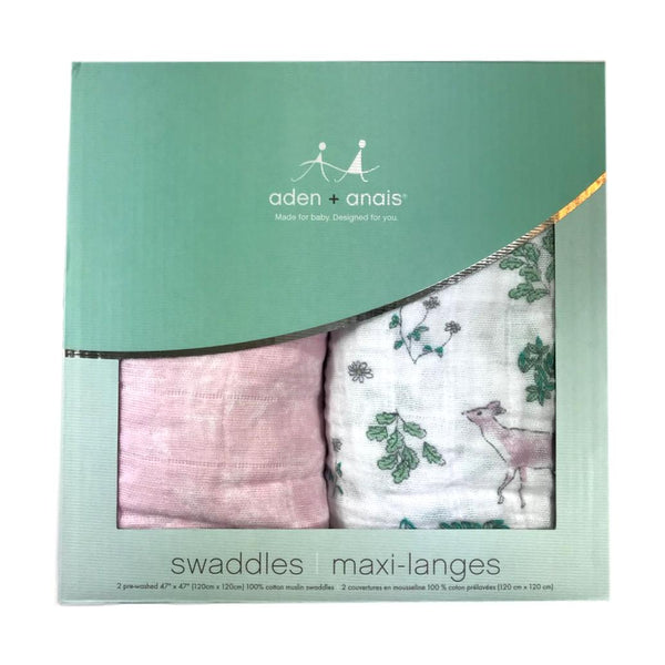 Aden + Anais Forest Fantasy 2-Pack Classic Swaddle - Frolicstyle