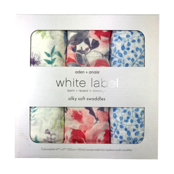 Aden + Anais Watercolor Garden 3-Pack Swaddle - Frolicstyle