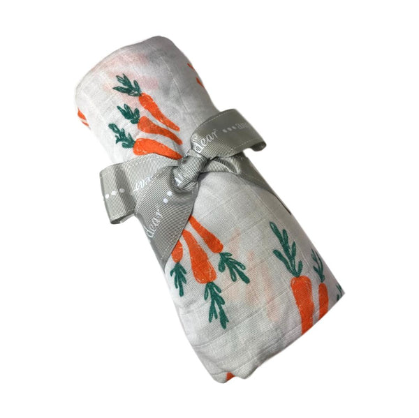 Angel Dear Carrot Swaddle Blanket - Frolicstyle