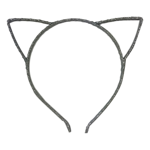 Couture Clips Ava Cat Ears - Silver