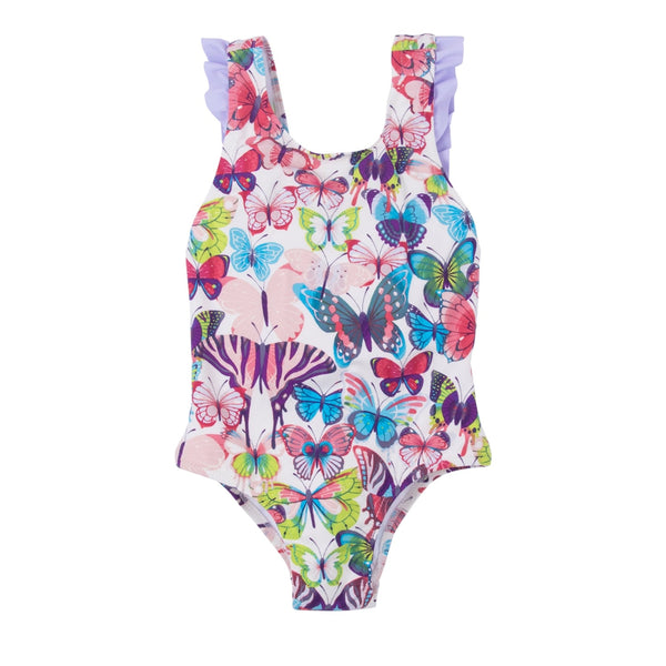 Hatley Colorful Butterflies One Piece Swimsuit - Frolicstyle