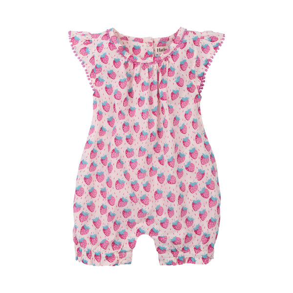 Hatley Sleeveless Strawberry Romper - Frolicstyle