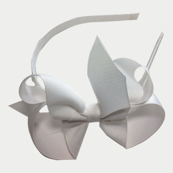 "Bows Arts Classic 5"" Bow on Headband"