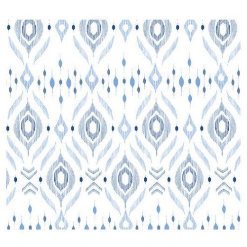Angel Dear Blue Ikat Swaddle Blanket - Frolicstyle
