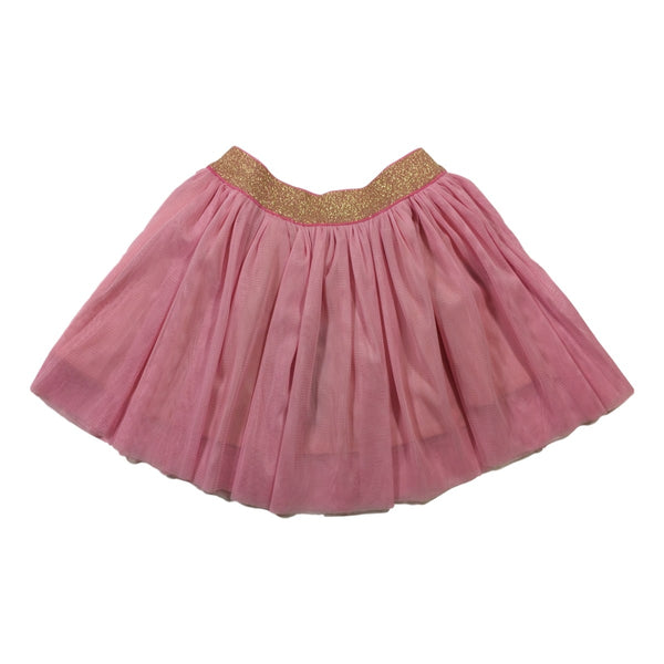 Toobydoo Charlotte Pink Tulle Skirt - Frolicstyle