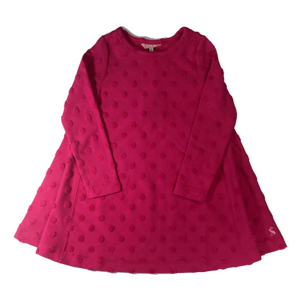 Joules Claribels Fuschia Pink Trapeze Dress - Frolicstyle