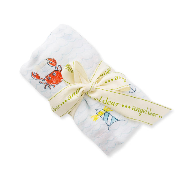 Angel Dear Crabby Bamboo Swaddle Blanket - Frolicstyle