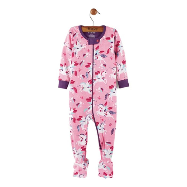 Hatley Winged Unicorn Organic Cotton Pajamas - Frolicstyle