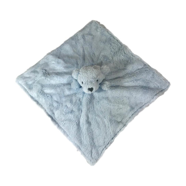 Elegant Baby Blue Bear Security Blankie - Frolicstyle