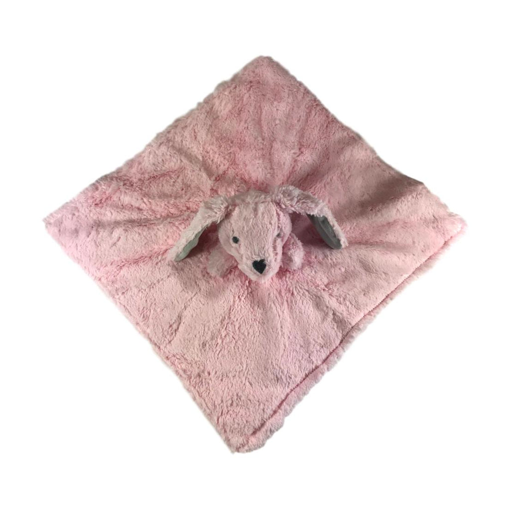 Elegant Baby Pink Bunny Security Blankie - Frolicstyle