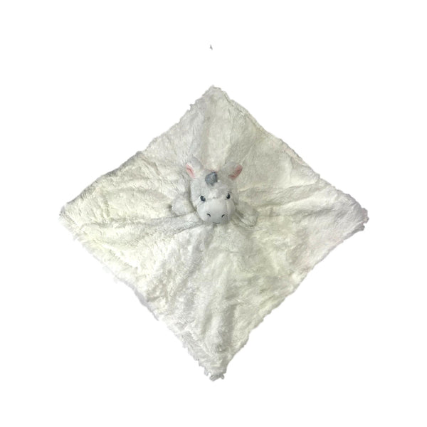 Elegant Baby White Unicorn Security Blankie - Frolicstyle