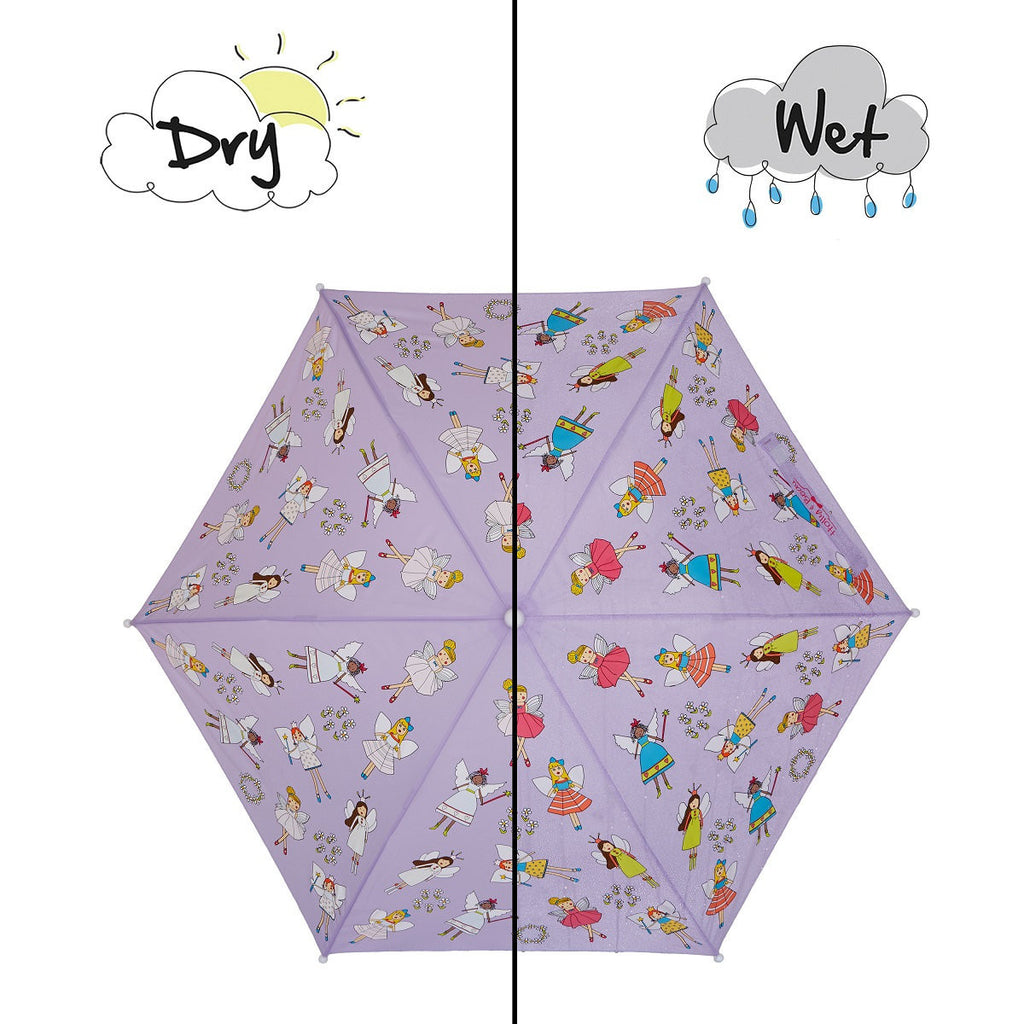 Holly&Beau Purple Fairy Color Changing Umbrella - Frolicstyle