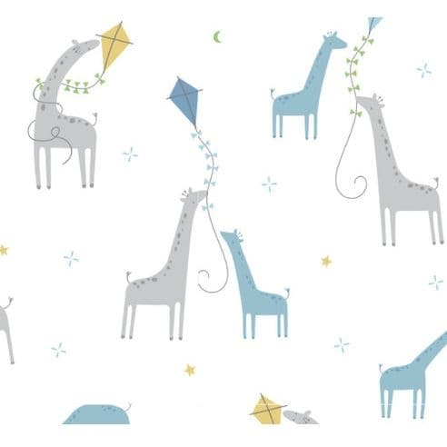 Angel Dear Giraffes With Kites Swaddle Blanket - Frolicstyle