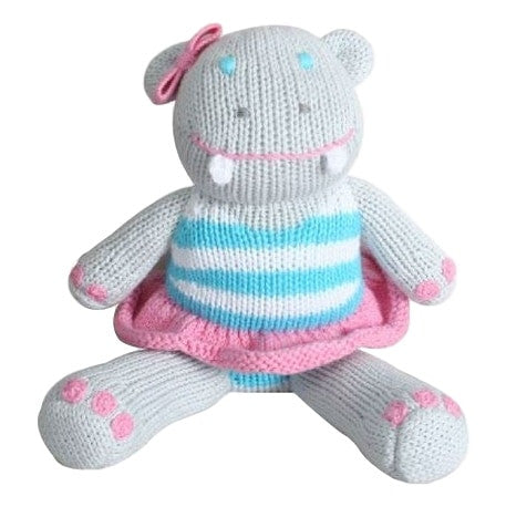 Zubels Dancing Hippo Doll - Frolicstyle