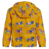 Holly&Beau Caraousel Horse Color Changing Yellow Raincoat - Frolicstyle
