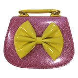 Doe a Dear Girls Pink Glitter Pocketbook - Frolicstyle