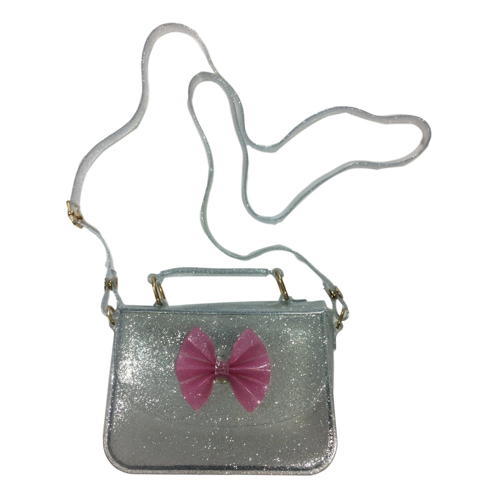 Doe a Dear Girls Silver Glitter Jelly Pocketbook - Frolicstyle