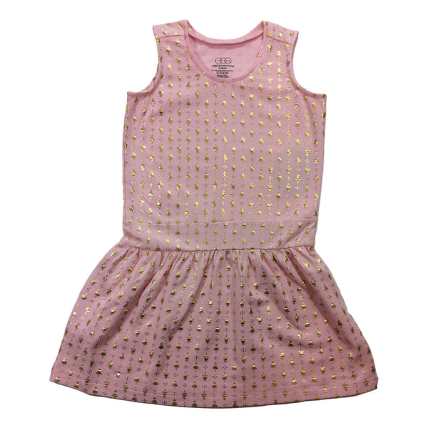 Egg Baby Bella Pink Sleeveless Dress - Frolicstyle