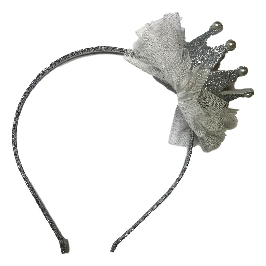 Couture Clips Glittery Tulle Headband - Frolicstyle