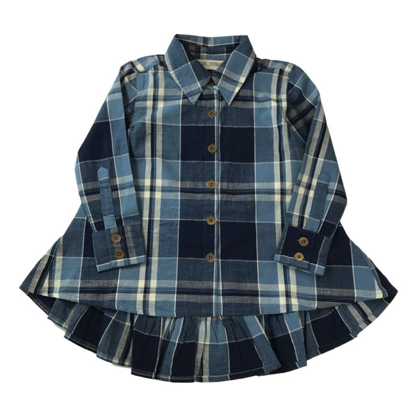 Jak and Peppar Fly Away Button Down Girls Shirt - Frolicstyle